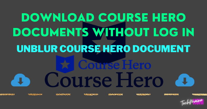 Course Hero Downloader [Free] Download Course Hero Documents