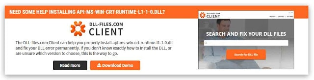 Download and Copy Lost DLL Files