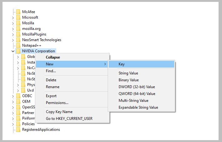 Setting Windows VRAM Using Registry