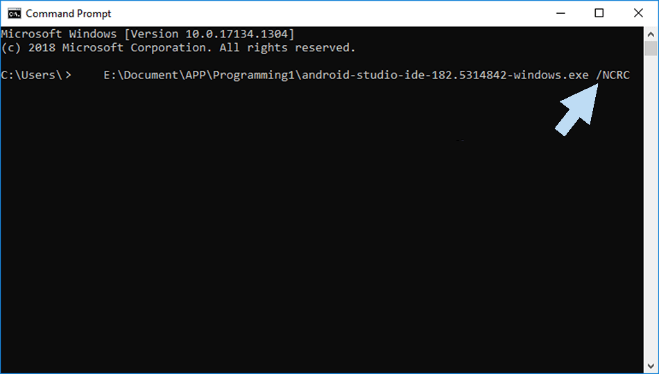 Using the Command Prompt