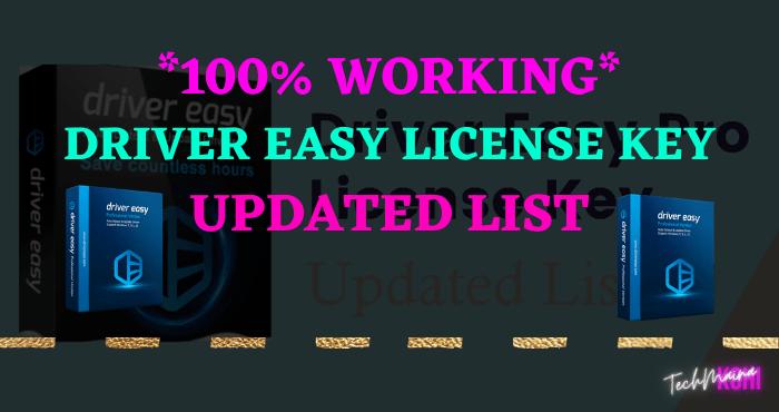 Driver Easy License Key