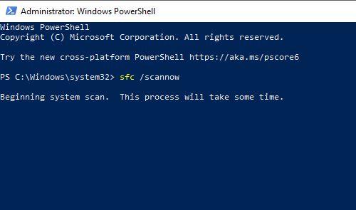 Using System File Checker (SFC)
