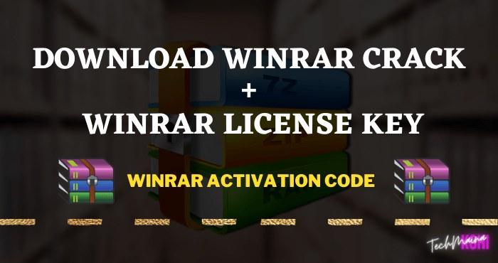 WinRAR Crack + WinRAR License Key