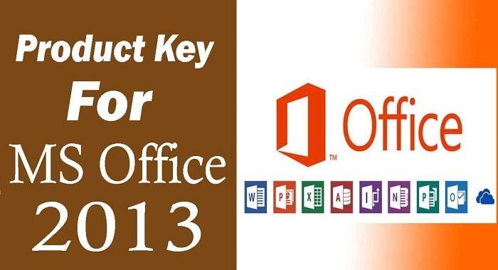 key for microsoft office 2013