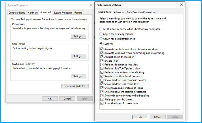 Disable Windows' Visual Styles Feature
