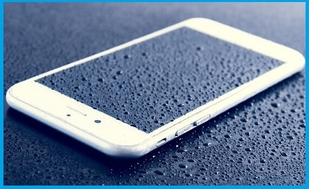 Dry the cellphone (if exposed to water)