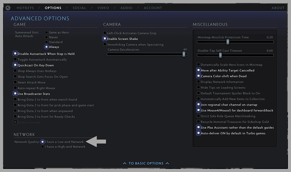 Enable Low-End Network
