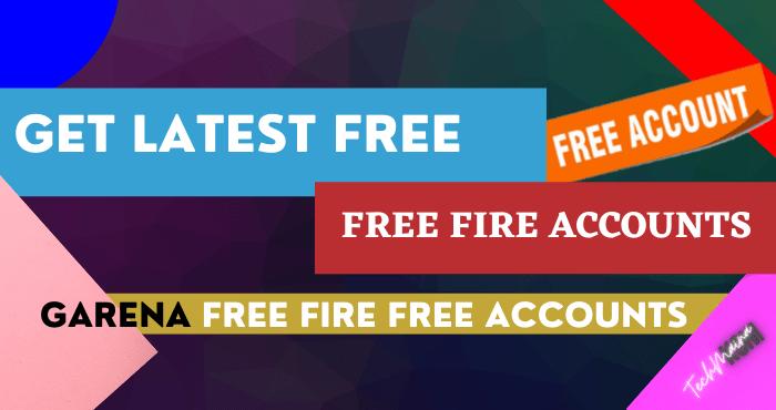 Get Latest Free Fire AccountsGet Latest Free Fire Accounts