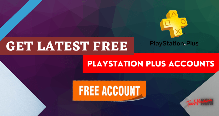 Get Latest Free PlayStation Plus Accounts