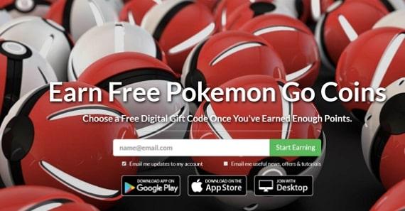 Get pokemon go Through PointsPrizes