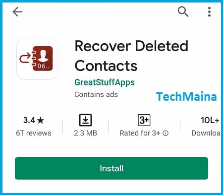 How to Restore Deleted Contacts on SIM Card