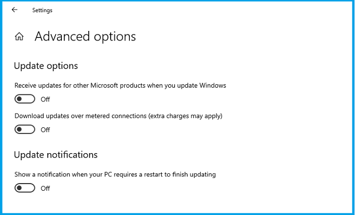 How to Turn Off Windows 10 Update Notifications