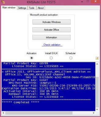 Remove Activate Windows 10 Watermark with KMS Auto Lite