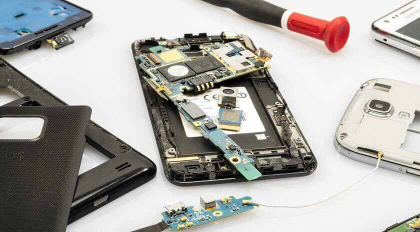 Repair Damaged Components On Phone