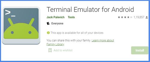 Restore IMEI Via Terminal Emulator