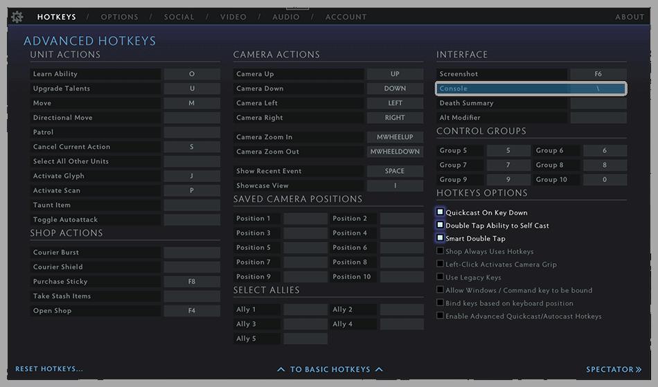 Set Command List