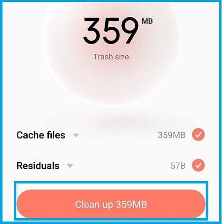 clean junk files