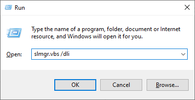 Check Windows 10 Genuine / Not With Run