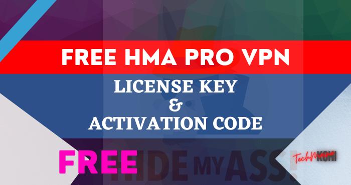 Free HMA Pro VPN License Key & Activation Code