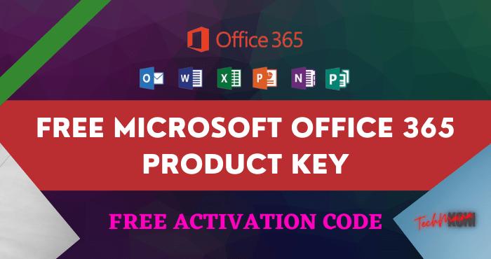 Free Microsoft Office 365 Product Key