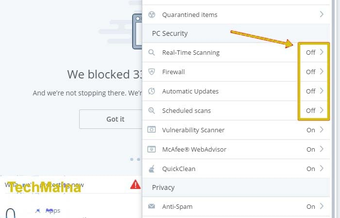 How to Temporarily Turn Off McAfee Antivirus