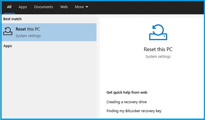 Reset Your Windows Laptop