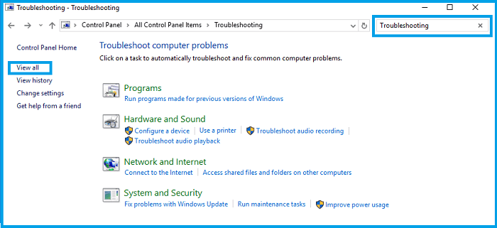 Use the Windows Update Troubleshooter