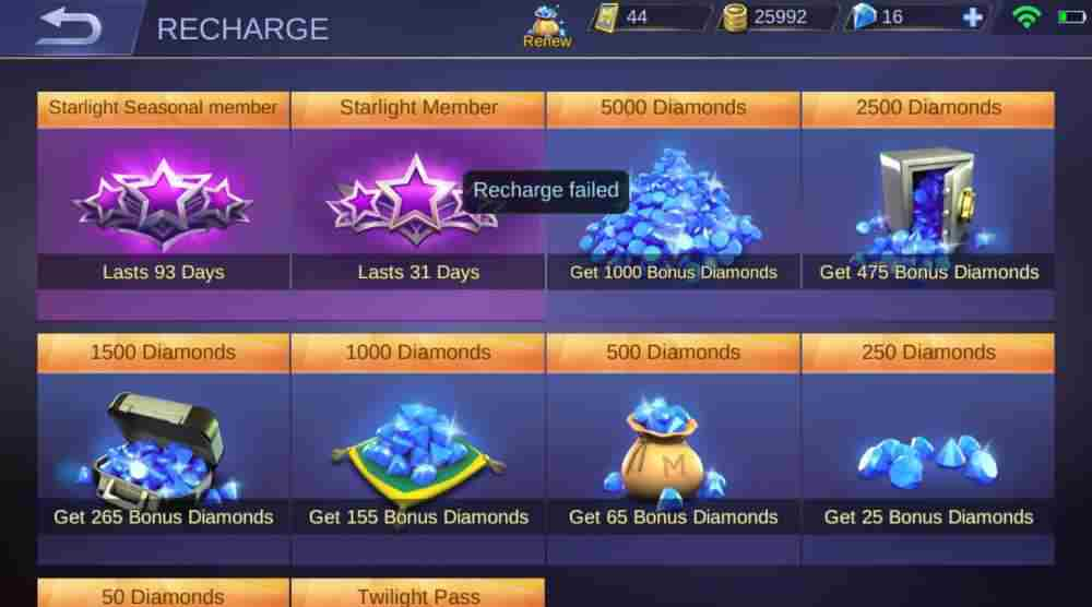 Android Apps with Diamond Prizes