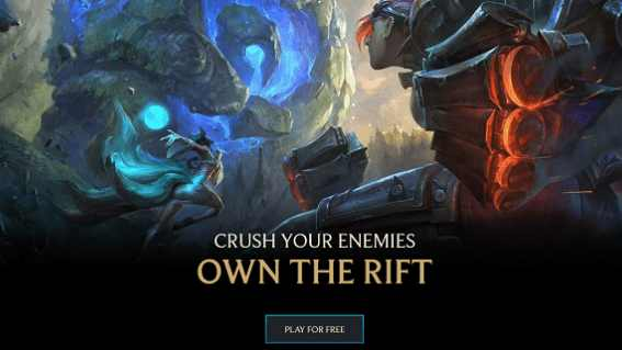 Main Features of League of Legends