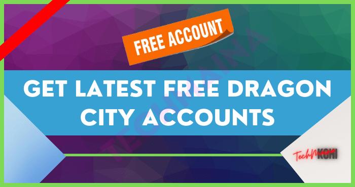 Get Latest Free Dragon City Accounts